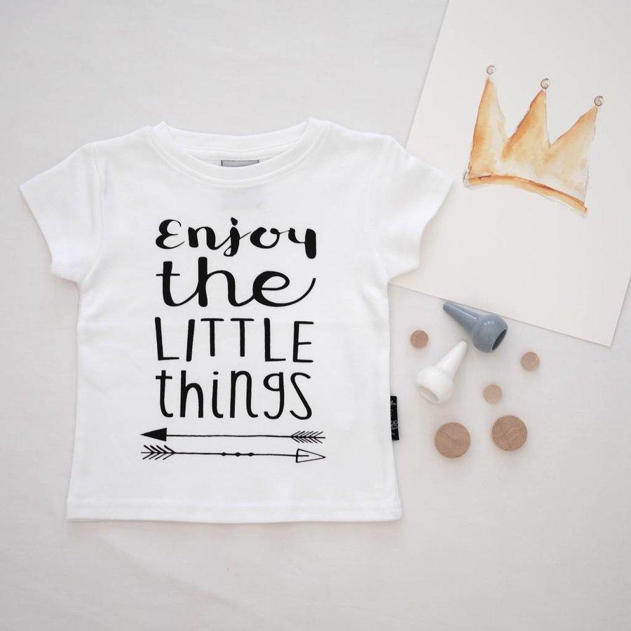 Aster & Oak T-shirt Enjoy The Little Things-4