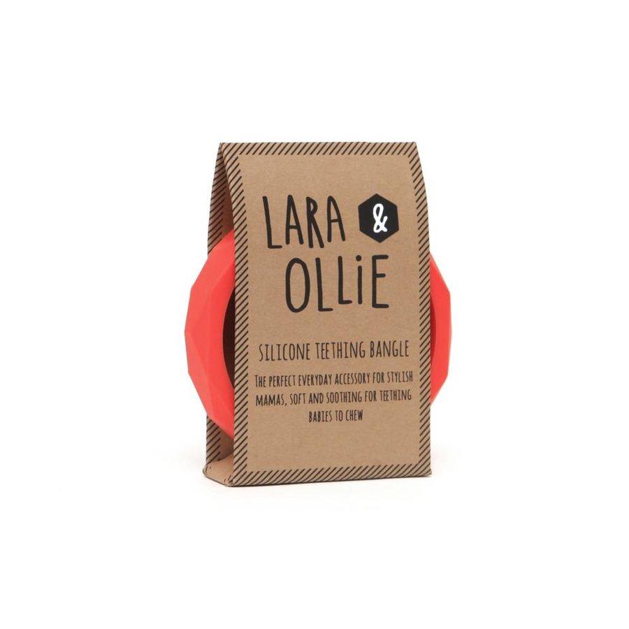Lara & Olli Armband / Bijtring Koraal