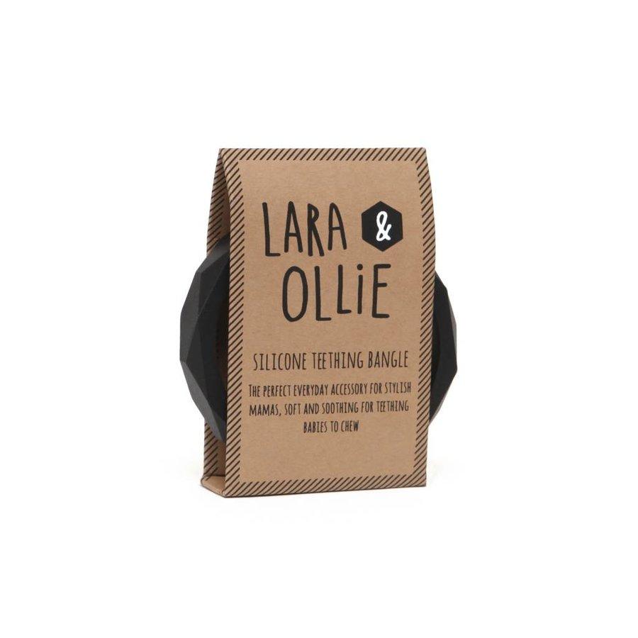 Lara & Olli Armband / Bijtring Zwart