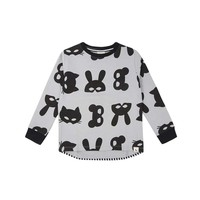 thumb-Turtledove London Animal Mask Sweatshirt-1