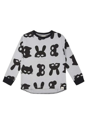 Animal Mask Sweatshirt