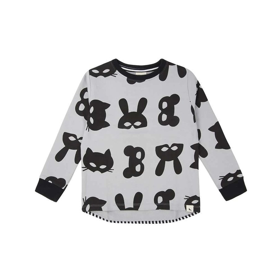Turtledove London Animal Mask Sweatshirt-1