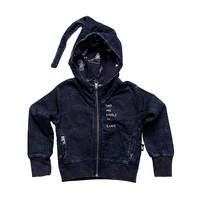 thumb-Tuli Bert Elf Hoodie Jasje Jeans Blauw-1