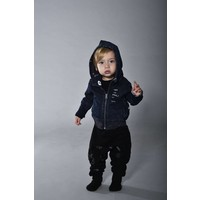 thumb-Tuli Bert Elf Hoodie Jasje Jeans Blauw-3