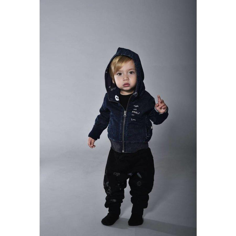 Tuli Bert Elf Hoodie Jasje Jeans Blauw-3