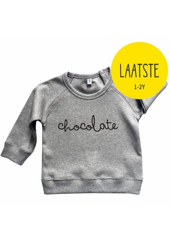 Sweatshirt CHOCOLATE grijs