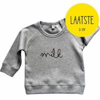 Organic Zoo Sweatshirt MILK Grijs