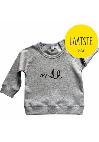 Sweatshirt MILK grijs