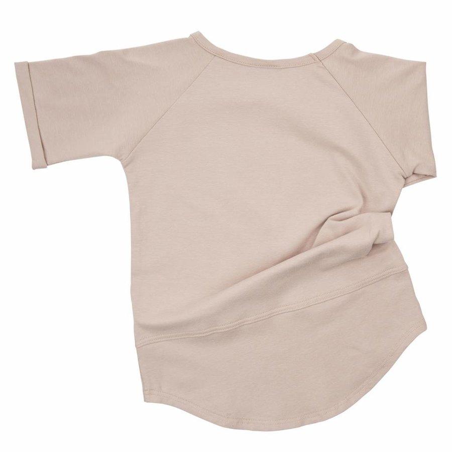 CarlijnQ Basic T-shirt Sand-2