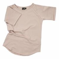 thumb-CarlijnQ Basic T-shirt Sand-1