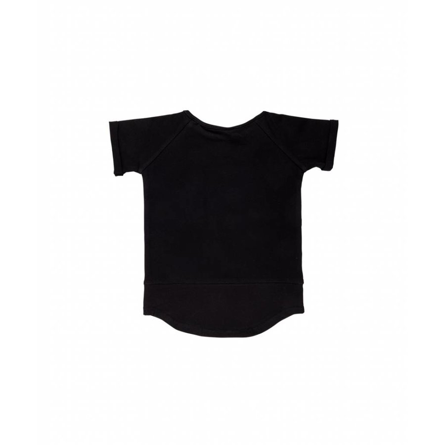 CarlijnQ Basic T-shirt Zwart-3