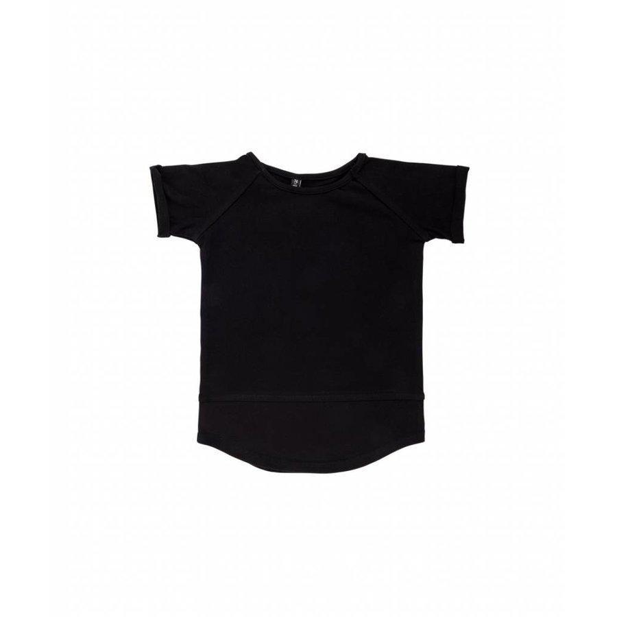 CarlijnQ Basic T-shirt Zwart-2