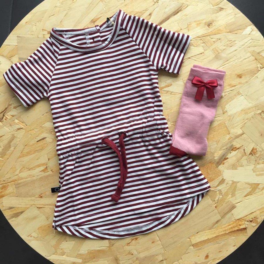 nOeser Sokken met Strik Roze