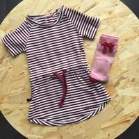 thumb-nOeser Pien Dress Strepen Rood-4