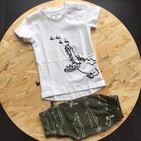 nOeser T-shirt Croco wit