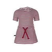 thumb-nOeser Pien Dress Strepen Rood-1