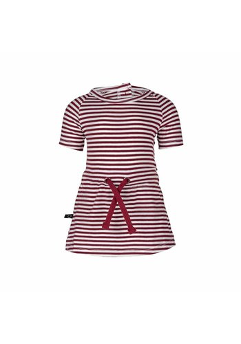Dress Streepjes Rood