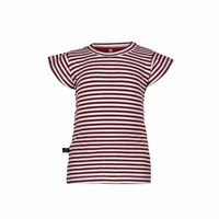 thumb-nOeser Ted T-shirt Frill Strepen Rood-1