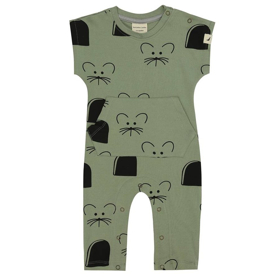 Turtledove London Playsuit Mouse House-1