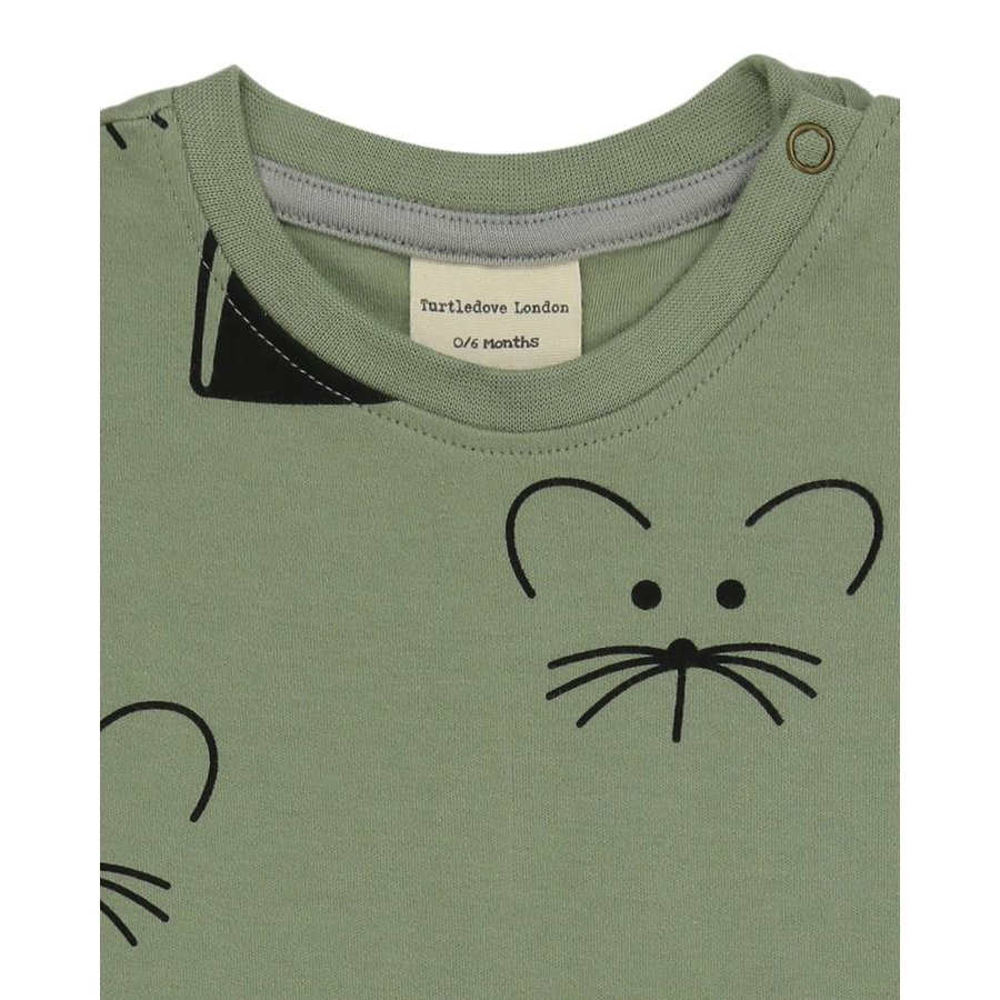 Turtledove London Playsuit Mouse House-3