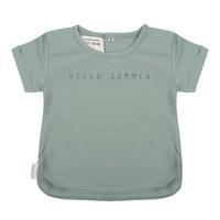 Little Indians T-shirt Hello Summer Groen