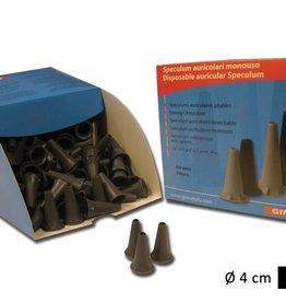 Medische Vakhandel Ohrtrichter Schwarz, 4 mm Erwachsene