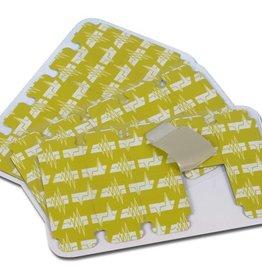 Medische Vakhandel EKG  Tab-Elektroden 100 Stück (Ersatz für Welch Allyn EKG TAB Elektroden, 50% Preisnachlass)