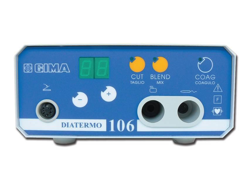 Diatermo Koagulator Diatermo 106 - 50 W, empfohlen für die allgemeine Praxis