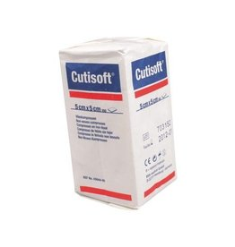 BSN Medical Cutisoft - 5 x 5 cm, 4-lagig, unsteril, 100 Stück