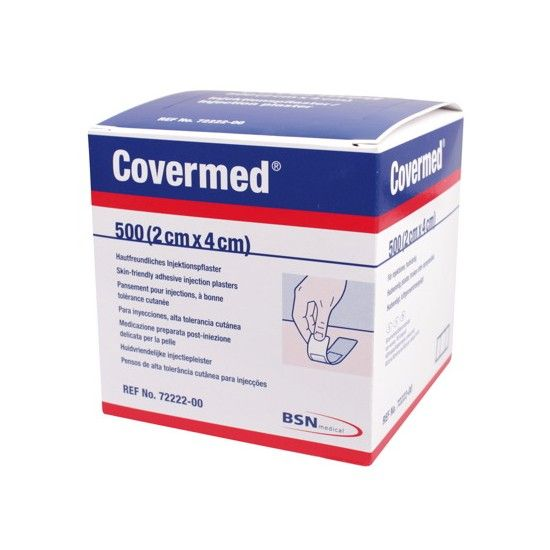 BSN Medical Covermed injectiepleister 2 x 4 cm - Per 500