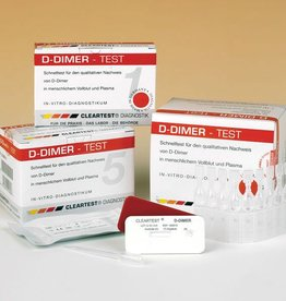 Medische Vakhandel Cleartest® D-Dimer, 5 Tests