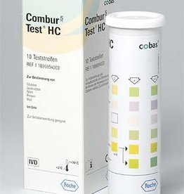 Medische Vakhandel Combur 5-Test HC 10 strips Ideaal voor uw visitetas