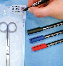 Medische Vakhandel Sterilisationsfeste Faserschreiber, 1 Stück, Schwarz