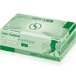 Medische Vakhandel Sempercare® Latex S - Small 100 Stuk