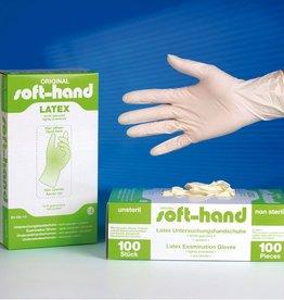 Medische Vakhandel Soft-Hand Latex - licht gepoederd S - Small 100 Stuks