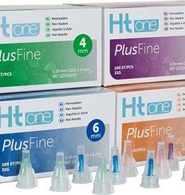 Medische Vakhandel HT One Plusfine pennaalden 6 mm 31G 100 stuks