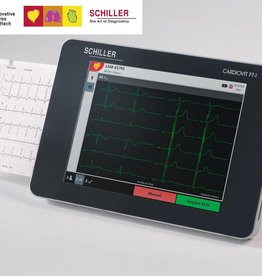 Medische Vakhandel Schiller  ECG monitor Cardiovit FT-1 with interpretation software ETM and CCAA