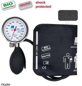 KaWe KaWe MASTERMED Blutdruckmessgerät, stoßfest und biokompatibele Manschette, Metallring