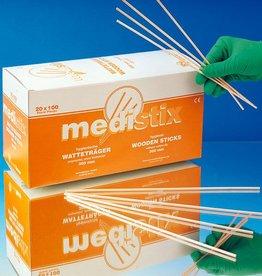 Medische Vakhandel Wooden applicators without tip - 30 cm - 100 pieces