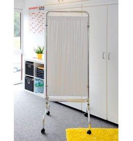 Medische Vakhandel PVC-Vorhang für Paravent, 3-teilig mit Rollen