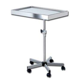 Medische Vakhandel Stainless steel instrument table - Mayo, wheeled version