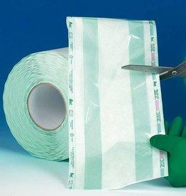 Medische Vakhandel Sterilisatierol met vouw 100 mtr x 10 cm