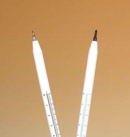 Medische Vakhandel Sterile Hautmarker, fein, 0,5 mm, schwarz