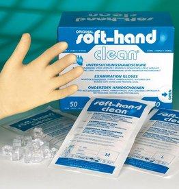 Medische Vakhandel Soft Hand Clean, small, steril, 50 Stück Paarweise steril verpacktt