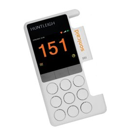 Huntleigh Huntleigh vasculaire obstetrische doppler Sonicaid SRX-R exclusief probe inclusief oplaadbare batterijen