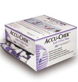 Medische Vakhandel Accu Chek Safe-T-Pro Plus Lanzetten 200 Stück