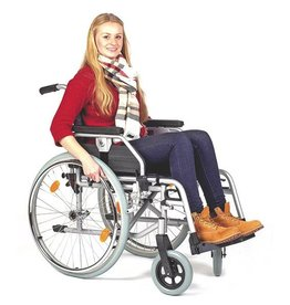 Medische Vakhandel Steel wheelchair 48-50 cm seat width