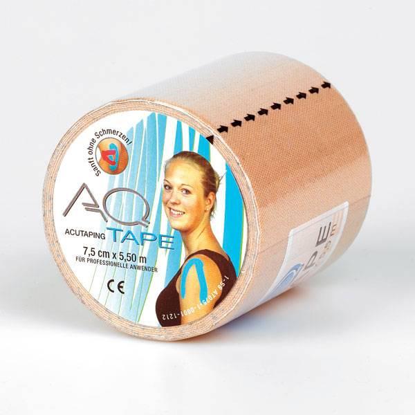 AQ AQ Kinesiotape Fysiotape small, 5,5 m x 2,5 cm, 2 Rollen