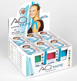 AQ AQ kinesiotape fysiotape Smal: Rol 5,5 m x 2,5 cm  2 rollen alternatief voor CureTape