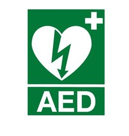 Medische Vakhandel AED sticker